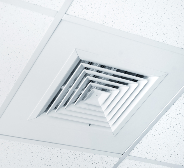 Workplace cooling vent